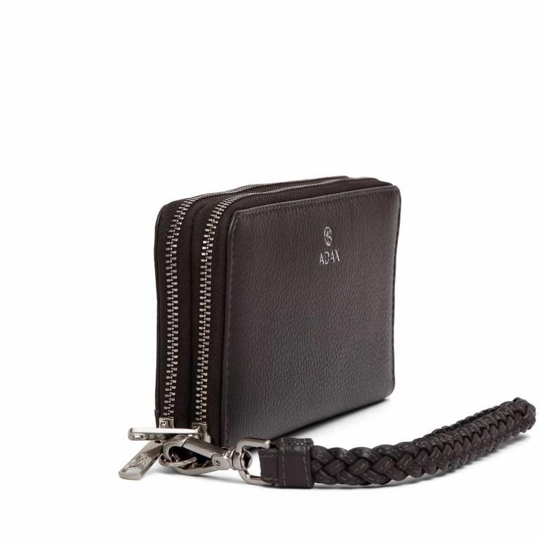 Adax Cormorano 196492 Reißverschluss-Börse Dark Grey, Farbe: grau, Marke: Adax, EAN: 5705483180618, Abmessungen in cm: 19.0x10.0x3.5, Bild 2 von 3