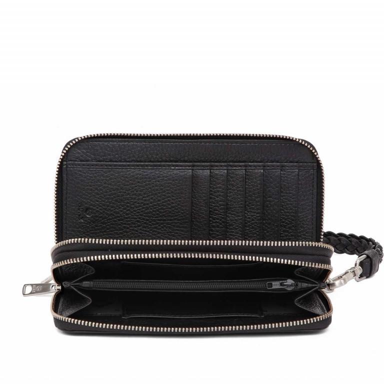 Adax Cormorano 196492 Reißverschluss-Börse Black, Farbe: schwarz, Marke: Adax, EAN: 5705483160276, Abmessungen in cm: 19.0x10.0x3.5, Bild 3 von 3