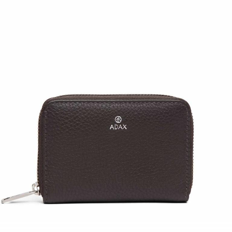 Adax Cormorano 454492 Mini-Börse Dark Grey, Farbe: grau, Marke: Adax, EAN: 5705483183046, Abmessungen in cm: 11.0x8.0x2.0, Bild 1 von 3