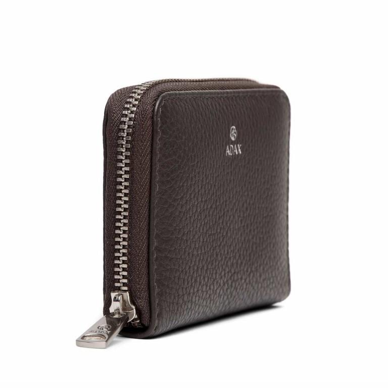 Adax Cormorano 454492 Mini-Börse Dark Grey, Farbe: grau, Marke: Adax, EAN: 5705483183046, Abmessungen in cm: 11.0x8.0x2.0, Bild 2 von 3