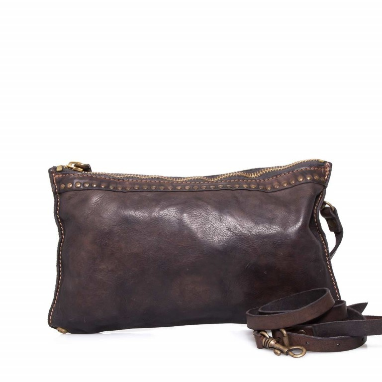 Campomaggi Ginestra Tasche Leder C4024-VL-2002 Grigio, Farbe: grau, Marke: Campomaggi, Abmessungen in cm: 30.0x18.0x3.0, Bild 1 von 4