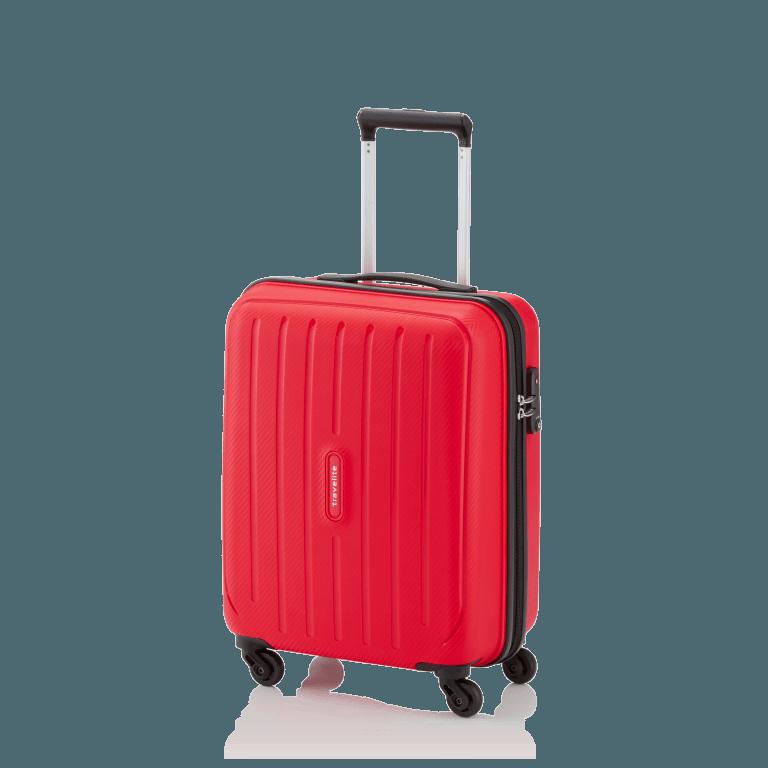Travelite Uptown 4-Rad Bordtrolley 55cm Rot, Farbe: rot/weinrot, Marke: Travelite, Abmessungen in cm: 38.0x55.0x20.0, Bild 2 von 4
