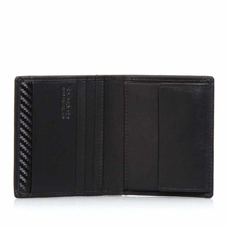 Samsonite S-Derry 57649 Börse Black, Farbe: schwarz, Marke: Samsonite, Abmessungen in cm: 8.5x9.7x1.0, Bild 3 von 4