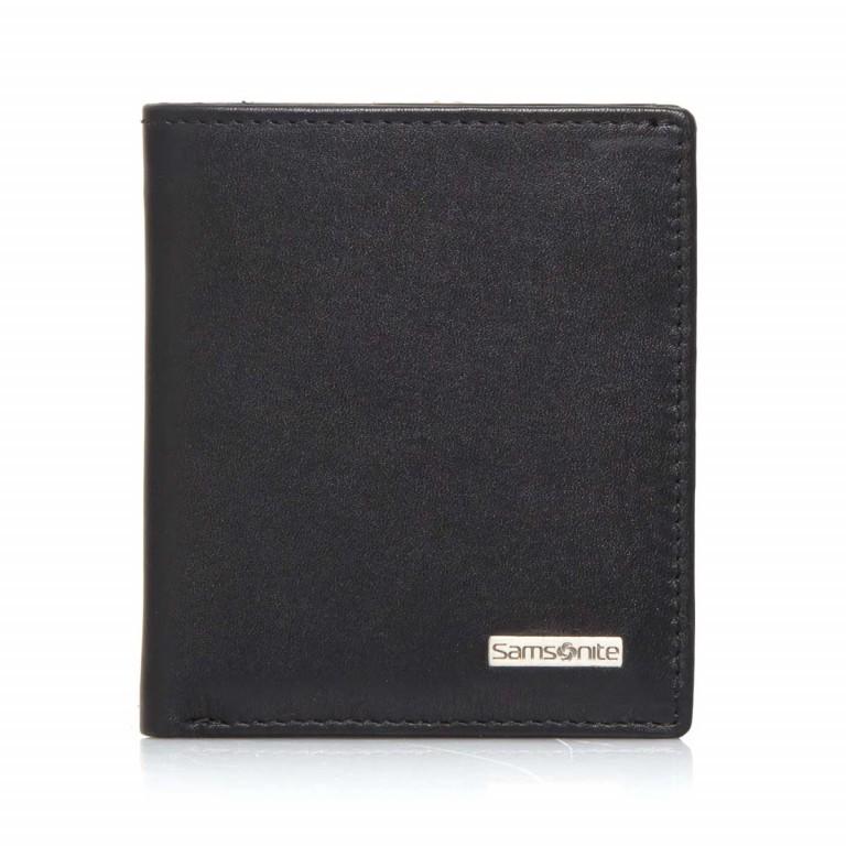Samsonite S-Derry 57649 Börse Black, Farbe: schwarz, Marke: Samsonite, Abmessungen in cm: 8.5x9.7x1.0, Bild 1 von 4