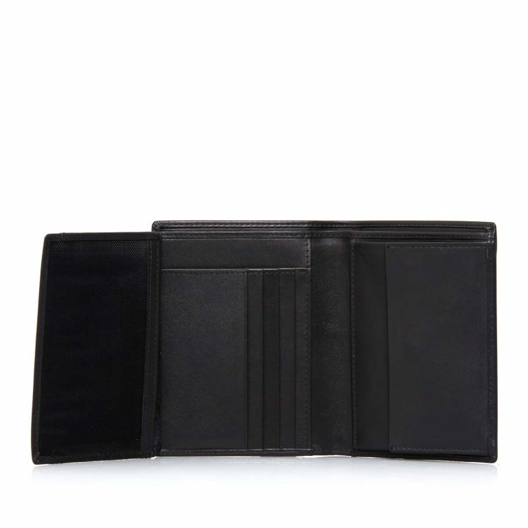 Samsonite S-Derry 57638 Kombibörse Black, Farbe: schwarz, Marke: Samsonite, Abmessungen in cm: 9.8x12.7x1.5, Bild 3 von 4