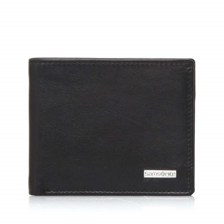 Samsonite S-Derry 57644 Kartenetui Black, Farbe: schwarz, Marke: Samsonite, Abmessungen in cm: 10.5x8.8x1.0, Bild 1 von 4