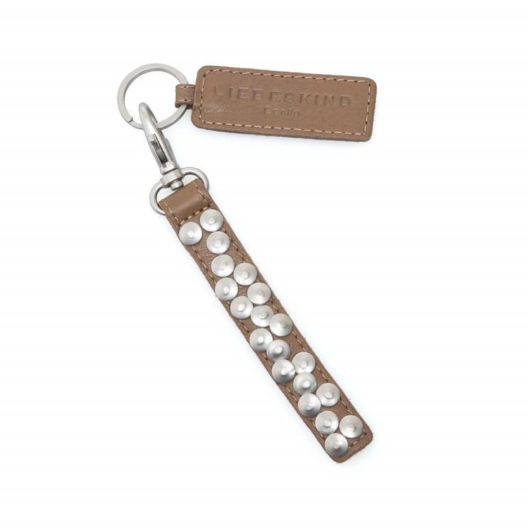 LIEBESKIND Vintage Tag 6 Schlüsselanhänger Taupe, Farbe: taupe/khaki, Marke: Liebeskind Berlin, EAN: 4051436856170, Abmessungen in cm: 1.5x17.0, Bild 1 von 1