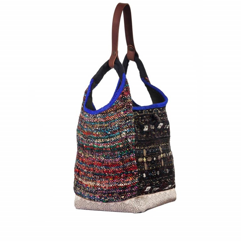 Anokhi Beutel Cheyenne Dena Multi, Farbe: bunt, Marke: Anokhi, Abmessungen in cm: 40.0x34.0x25.0, Bild 2 von 4