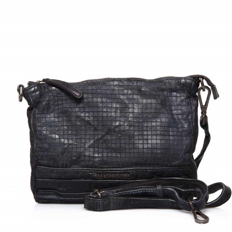 FREDsBRUDER Dimly 122-02-01 Crossbag Black, Farbe: schwarz, Marke: FredsBruder, Abmessungen in cm: 27.0x21.0x3.0, Bild 1 von 4