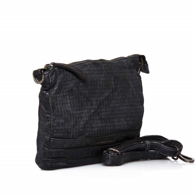 FREDsBRUDER Dimly 122-02-01 Crossbag Black, Farbe: schwarz, Marke: FredsBruder, Abmessungen in cm: 27.0x21.0x3.0, Bild 2 von 4