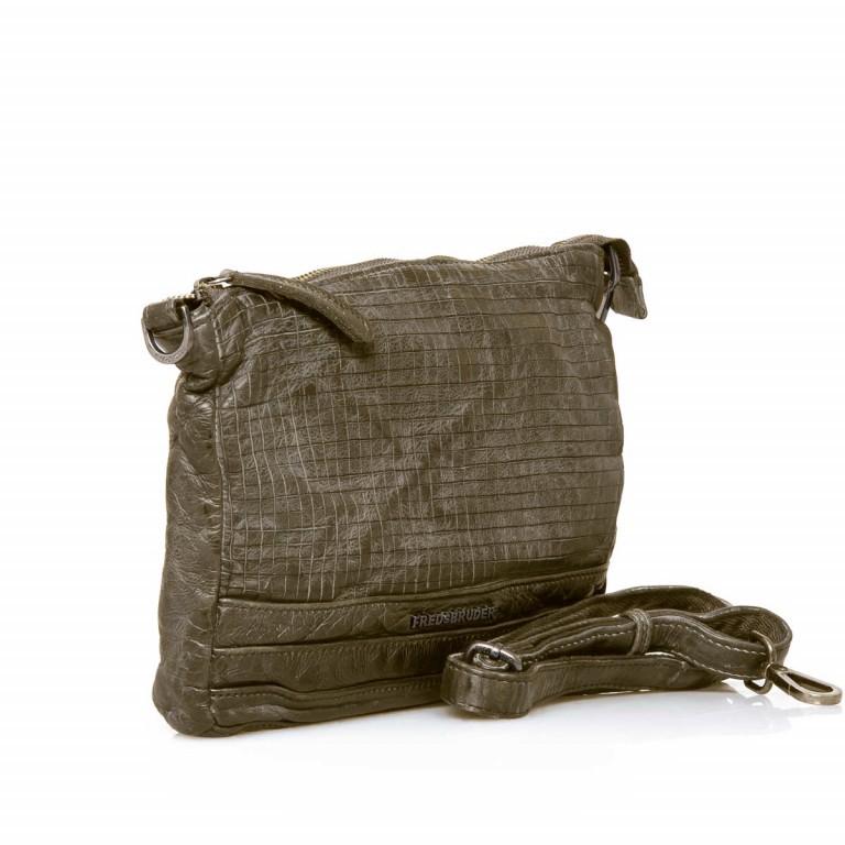 FREDsBRUDER Dimly 122-02-105 Crossbag Muddy Taupe, Farbe: taupe/khaki, Marke: FredsBruder, Abmessungen in cm: 27.0x21.0x3.0, Bild 2 von 4