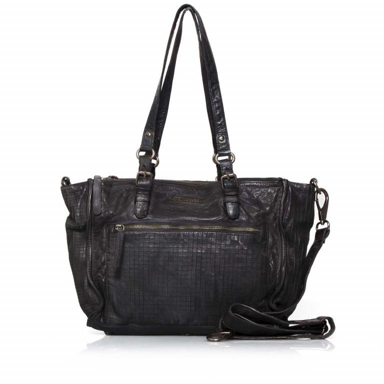 FREDsBRUDER 3D 122-06-01 Shopper Black, Farbe: schwarz, Manufacturer: FredsBruder, Dimensions (cm): 35.0x27.0x14.0, Image 1 of 4
