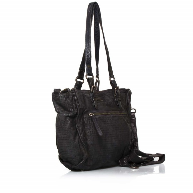 FREDsBRUDER 3D 122-06-01 Shopper Black, Farbe: schwarz, Manufacturer: FredsBruder, Dimensions (cm): 35.0x27.0x14.0, Image 2 of 4