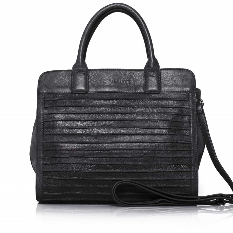 FREDsBRUDER Große Liebe 67-531r-01 Shopper Black, Farbe: schwarz, Marke: FredsBruder, Abmessungen in cm: 35.0x31.0x12.0, Bild 1 von 4
