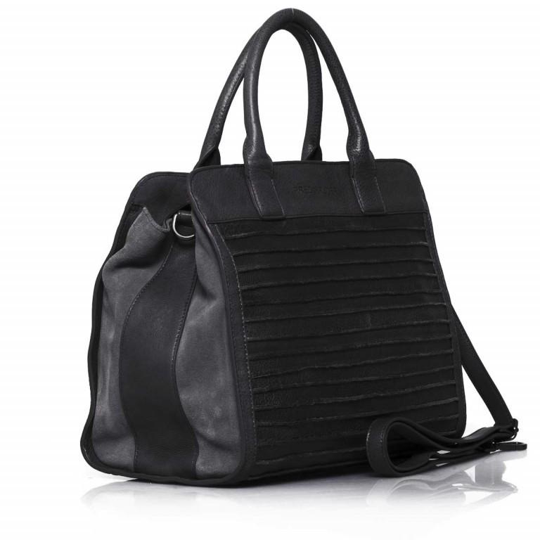 FREDsBRUDER Große Liebe 67-531r-01 Shopper Black, Farbe: schwarz, Marke: FredsBruder, Abmessungen in cm: 35.0x31.0x12.0, Bild 2 von 4