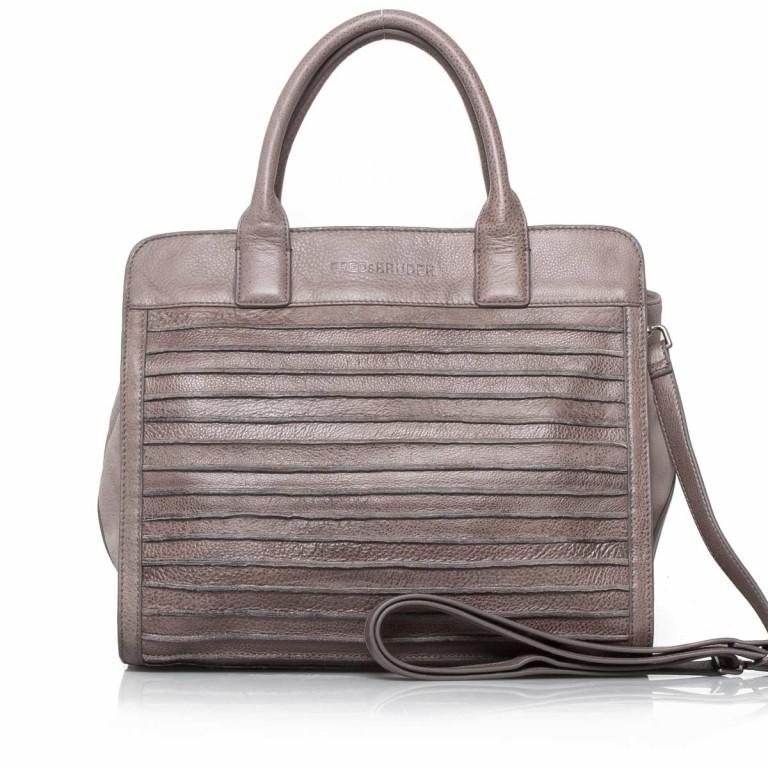 FREDsBRUDER Große Liebe 67-531r-113 Shopper Warm Grey, Farbe: grau, Marke: FredsBruder, Abmessungen in cm: 35.0x31.0x12.0, Bild 1 von 4