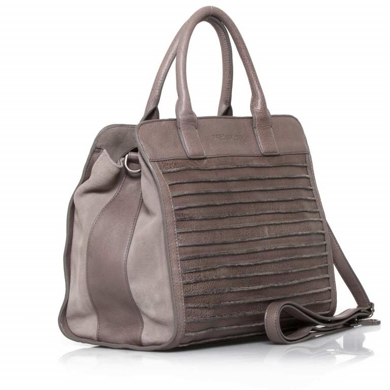 FREDsBRUDER Große Liebe 67-531r-113 Shopper Warm Grey, Farbe: grau, Marke: FredsBruder, Abmessungen in cm: 35.0x31.0x12.0, Bild 2 von 4