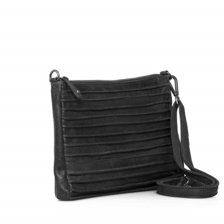 FREDsBRUDER Riffel 18-56r-01 Crossbody Black, Farbe: schwarz, Marke: FredsBruder, Abmessungen in cm: 26.0x18.0x2.0, Bild 2 von 4