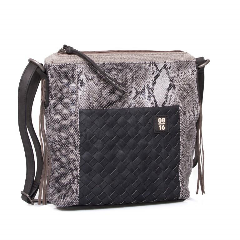08|16 Hoorn Ann Shoulderbag V Black, Farbe: schwarz, Marke: 08|16, EAN: 4053533455034, Abmessungen in cm: 29.0x25.0x9.0, Bild 1 von 1