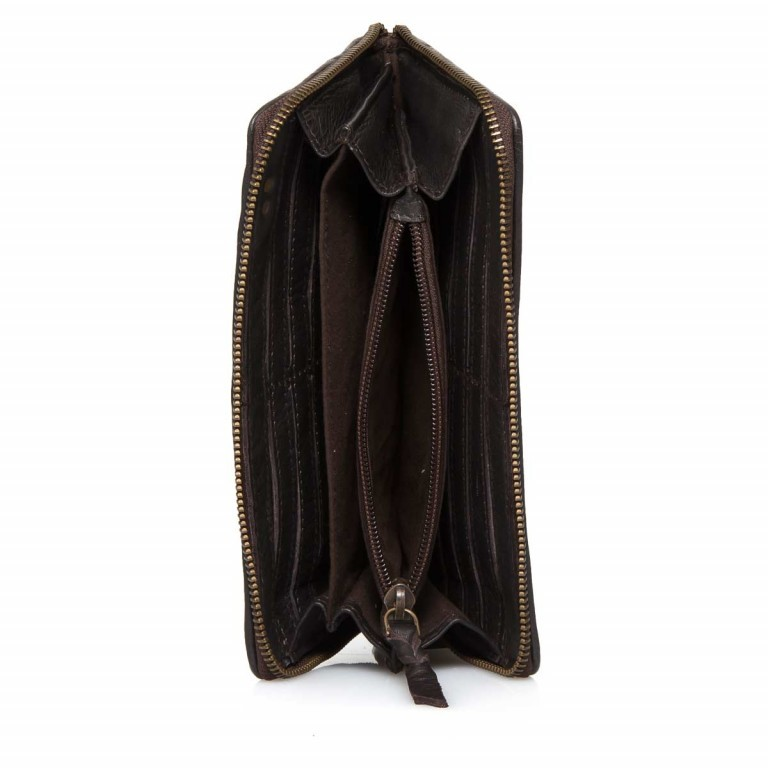 Desiderius Origami Maura Damenbörse Brown, Farbe: braun, Marke: Desiderius, Abmessungen in cm: 20.0x11.0x2.0, Bild 4 von 4