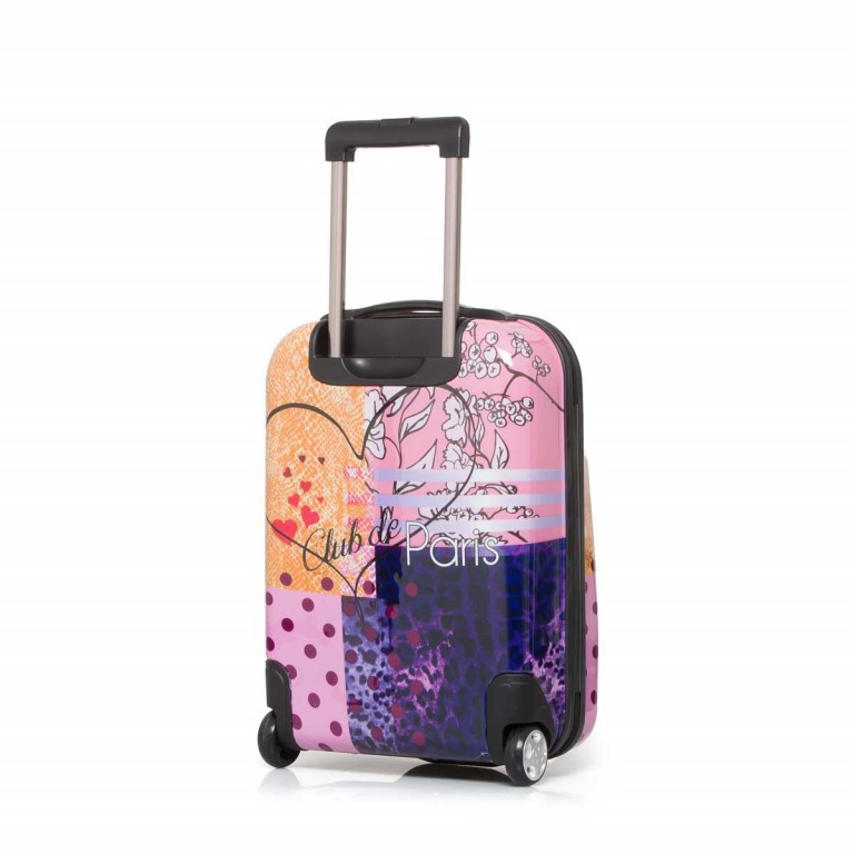 Travelite Flux Trolley 55cm Love, Farbe: flieder/lila, rosa/pink, orange, bunt, Marke: Travelite, Abmessungen in cm: 38.0x55.0x20.0, Bild 4 von 6