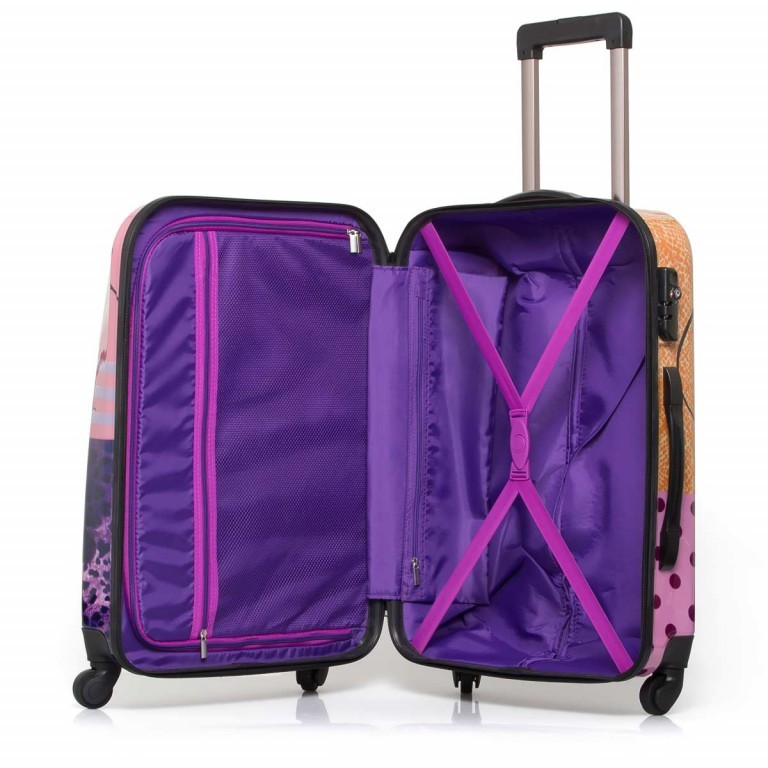 Travelite Flux Trolley 65cm Love, Marke: Travelite, Abmessungen in cm: 40.0x65.0x25.0, Bild 2 von 6
