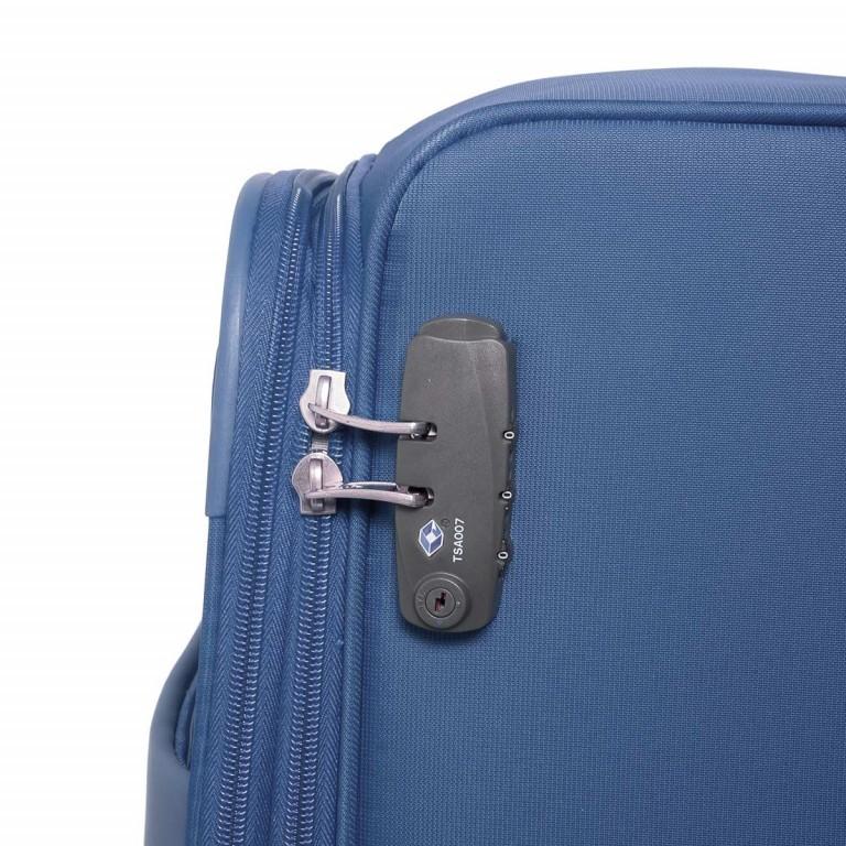 Samsonite Koffer/Trolley NCS Auva 73822 Spinner 80 Blue, Farbe: blau/petrol, Marke: Samsonite, Abmessungen in cm: 48.0x80.0x26.0, Bild 3 von 8