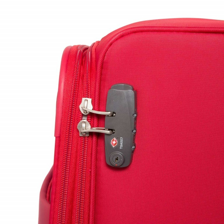 Samsonite NCS Auva 73821Spinner 68 Red, Farbe: rot/weinrot, Manufacturer: Samsonite, Dimensions (cm): 43.0x68.0x22.0, Image 3 of 6