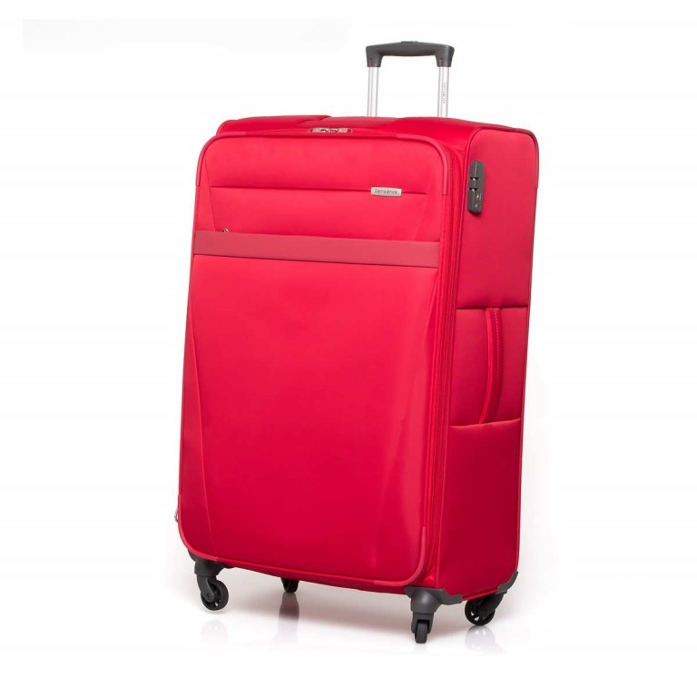 Samsonite NCS Auva 73822 Spinner 80 Red, Farbe: rot/weinrot, Manufacturer: Samsonite, Dimensions (cm): 48.0x80.0x26.0, Image 1 of 8