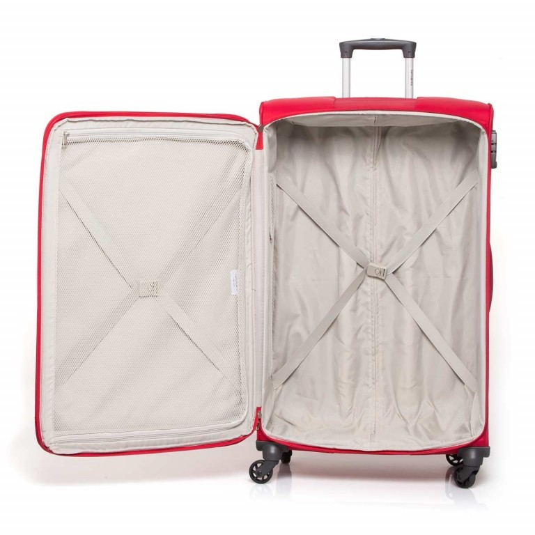 Samsonite NCS Auva 73822 Spinner 80 Red, Farbe: rot/weinrot, Manufacturer: Samsonite, Dimensions (cm): 48.0x80.0x26.0, Image 6 of 8