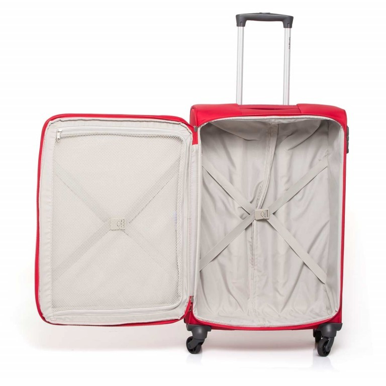 Samsonite NCS Auva 73821Spinner 68 Red, Farbe: rot/weinrot, Manufacturer: Samsonite, Dimensions (cm): 43.0x68.0x22.0, Image 4 of 6