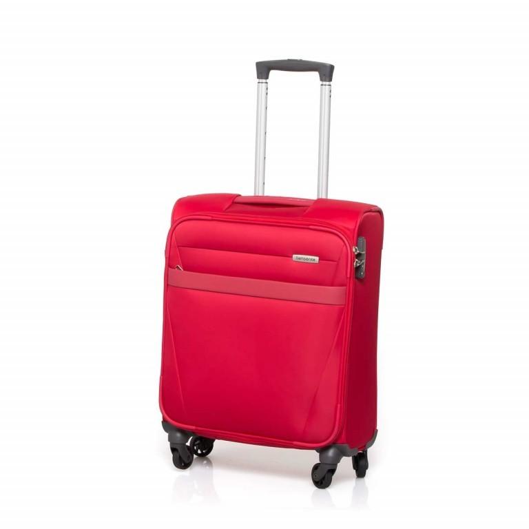 Samsonite NCS Auva 73820 Spinner 55 Red, Farbe: rot/weinrot, Marke: Samsonite, Abmessungen in cm: 55.0x40.0x20.0, Bild 1 von 7