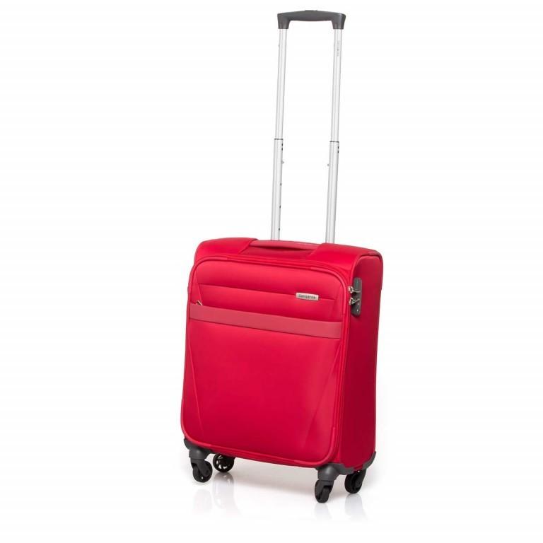 Samsonite NCS Auva 73820 Spinner 55 Red, Farbe: rot/weinrot, Marke: Samsonite, Abmessungen in cm: 55.0x40.0x20.0, Bild 2 von 7