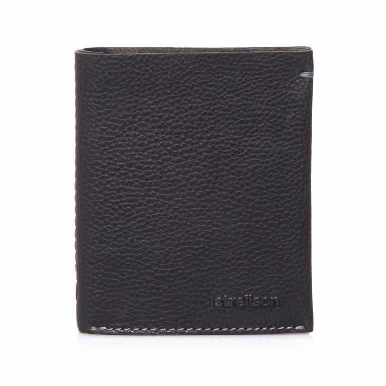 Strellson Woodford BillFold V8 Kombibörse Leder Black, Farbe: schwarz, Marke: Strellson, EAN: 4053533241842, Abmessungen in cm: 12.0x10.0x2.5, Bild 1 von 4