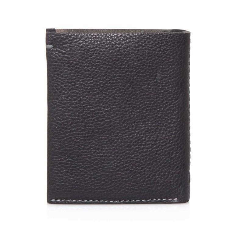 Strellson Woodford BillFold V8 Kombibörse Leder Black, Farbe: schwarz, Marke: Strellson, EAN: 4053533241842, Abmessungen in cm: 12.0x10.0x2.5, Bild 4 von 4