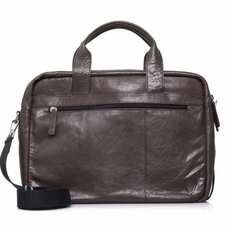 Strellson Greenford Softbriefcase XL Mud, Farbe: braun, Marke: Strellson, EAN: 4053533195817, Abmessungen in cm: 40.0x30.0x14.0, Bild 4 von 4