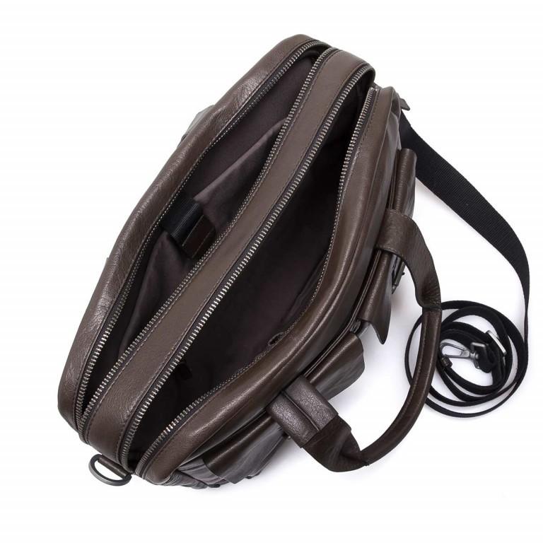 Strellson Greenford Softbriefcase XL Mud, Farbe: braun, Marke: Strellson, EAN: 4053533195817, Abmessungen in cm: 40.0x30.0x14.0, Bild 3 von 4