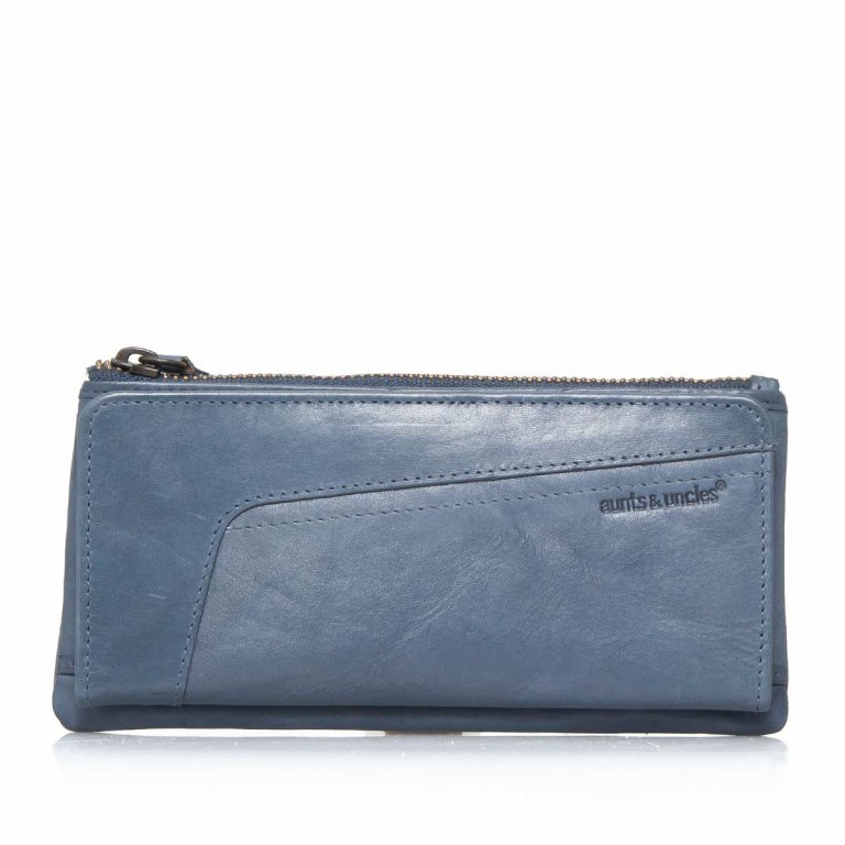 Aunts & Uncles Grandma´s Luxury Club Amy Denim, Farbe: blau/petrol, Marke: Aunts & Uncles, Abmessungen in cm: 17.0x10.0x3.0, Bild 1 von 3