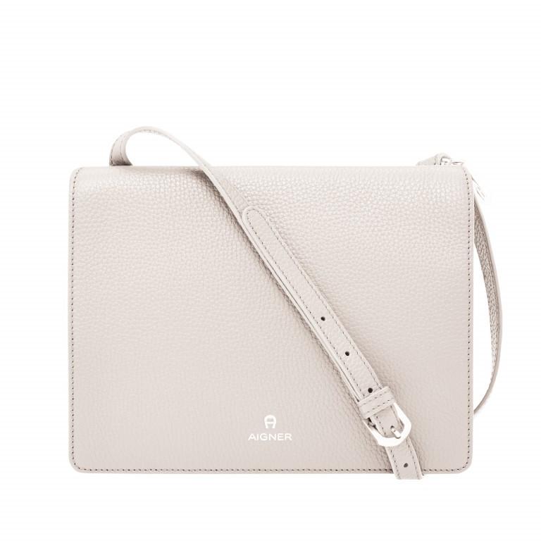 AIGNER Ivy Mini-Tasche 135168 Moon Grey, Farbe: beige, Marke: Aigner, Abmessungen in cm: 23.5x18.0x10.0, Bild 1 von 1