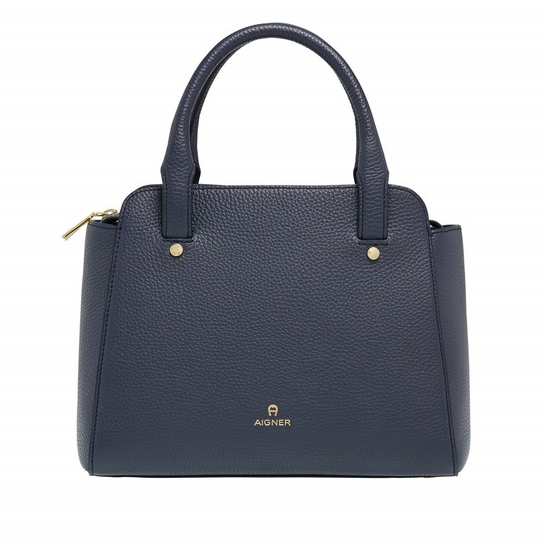AIGNER Ivy Handtasche 133423 Marine, Farbe: blau/petrol, Marke: Aigner, Abmessungen in cm: 24.0x21.0x9.0, Bild 1 von 3