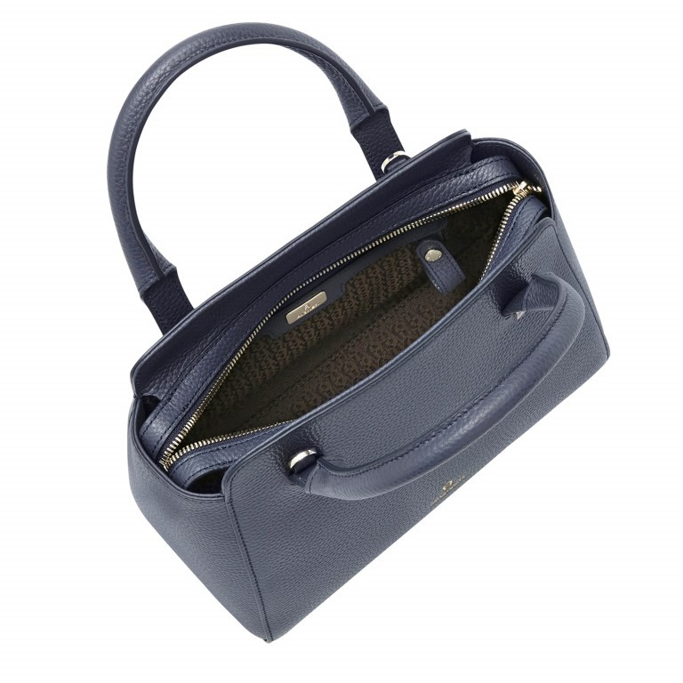 AIGNER Ivy Handtasche 133423 Marine, Farbe: blau/petrol, Marke: Aigner, Abmessungen in cm: 24.0x21.0x9.0, Bild 3 von 3