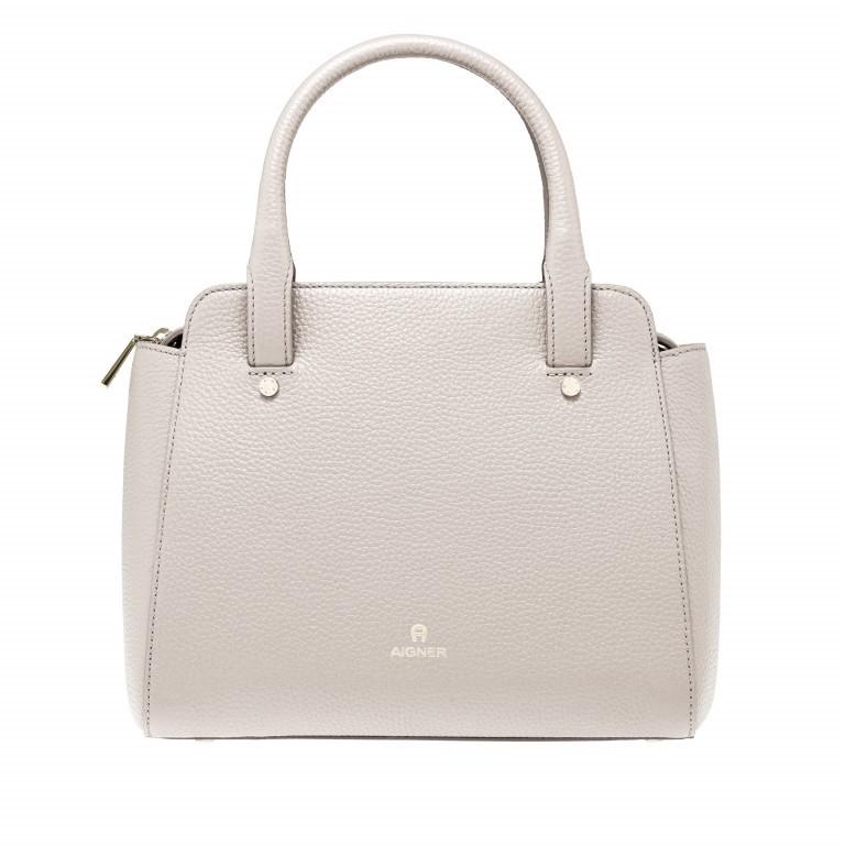AIGNER Ivy Handtasche 133423 Moon Grey, Farbe: beige, Marke: Aigner, Abmessungen in cm: 24.0x21.0x9.0, Bild 1 von 3