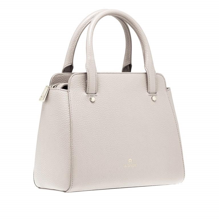 AIGNER Ivy Handtasche 133423 Moon Grey, Farbe: beige, Marke: Aigner, Abmessungen in cm: 24.0x21.0x9.0, Bild 2 von 3