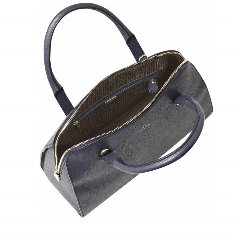 AIGNER Ivy Handtasche 133424 Marine, Farbe: blau/petrol, Marke: Aigner, Abmessungen in cm: 34.0x28.0x10.0, Bild 3 von 3
