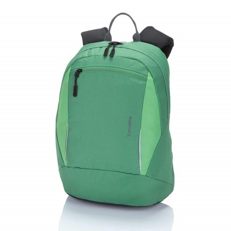 Travelite Basic Daypack S Grün, Farbe: grün/oliv, Marke: Travelite, Abmessungen in cm: 27.0x37.0x17.0, Bild 1 von 3
