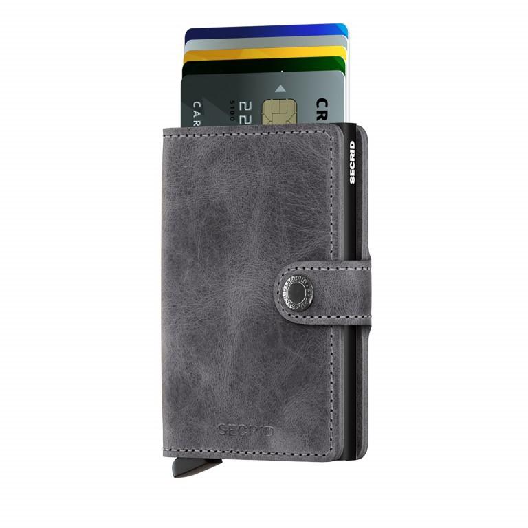 SECRID Miniwallet Vintage Grey, Farbe: grau, Marke: Secrid, Abmessungen in cm: 6.8x10.2x2.1, Bild 3 von 3