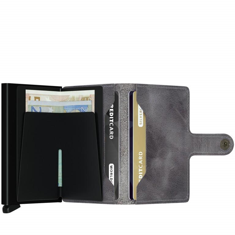 SECRID Miniwallet Vintage Grey, Farbe: grau, Marke: Secrid, Abmessungen in cm: 6.8x10.2x2.1, Bild 2 von 3