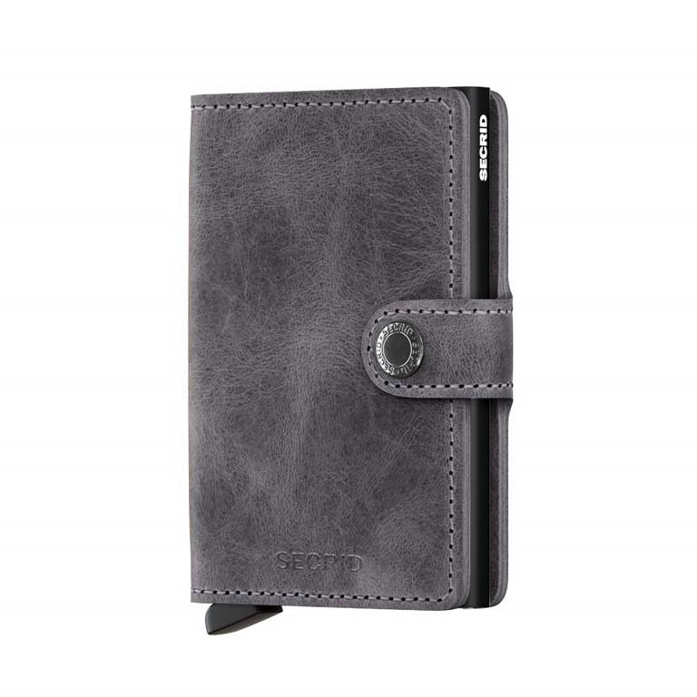 SECRID Miniwallet Vintage Grey, Farbe: grau, Marke: Secrid, Abmessungen in cm: 6.8x10.2x2.1, Bild 1 von 3