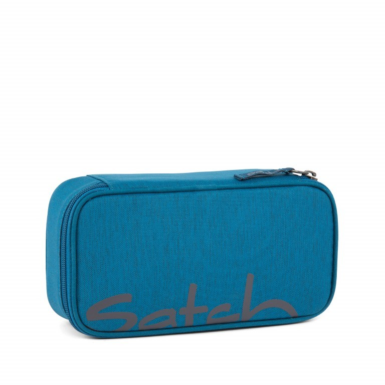 Satch Schlamperbox Canny Petrol, Farbe: blau/petrol, Manufacturer: Satch, EAN: 4057081012695, Dimensions (cm): 23.0x12.5x7.0, Image 1 of 1