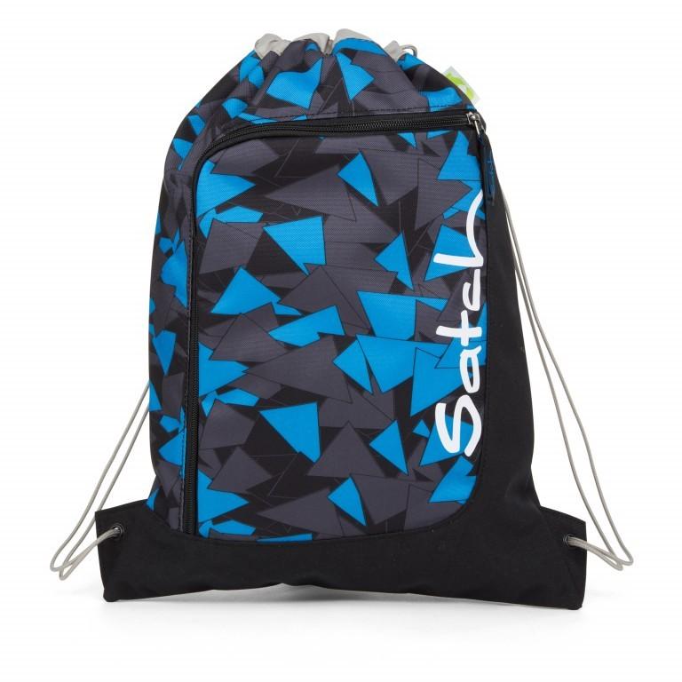 Satch Sportbeutel Blue Triangle, Marke: Satch, EAN: 4057081012855, Abmessungen in cm: 33.0x44.0x1.0, Bild 1 von 1